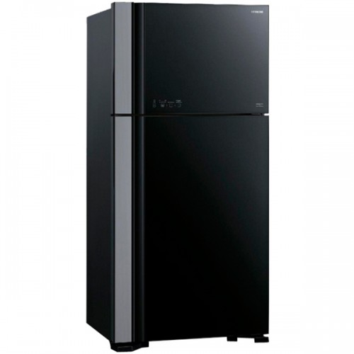 Холодильник с верхней морозильной камерой Широкий Hitachi R-VG 542 PU3 GBK